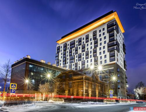 "Residential complex ""Kandinskii"", Ekaterinburg"