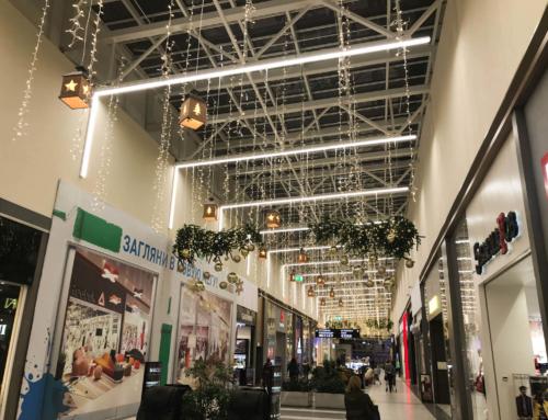 """Commercial gallery, Mall """"MEGA"""", Ekaterinburg"""