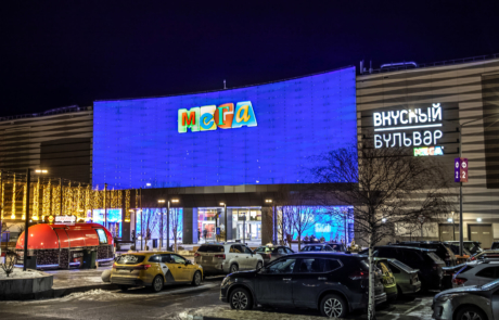 "Фасад ТЦ ""Мега Химки"", г. Москва"